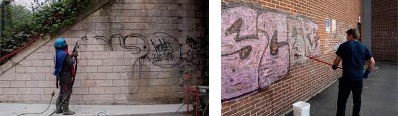 especiales limpieza graffitis - Servicios Especiales